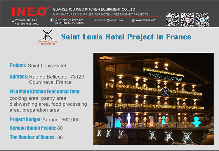 INEO Successful Restaurant And Bar Project In Saint Louis Hotel Project in France