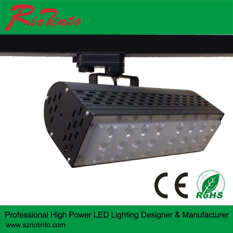 4 wire led track rail 30w 50w 70w led track light importer focus on America market