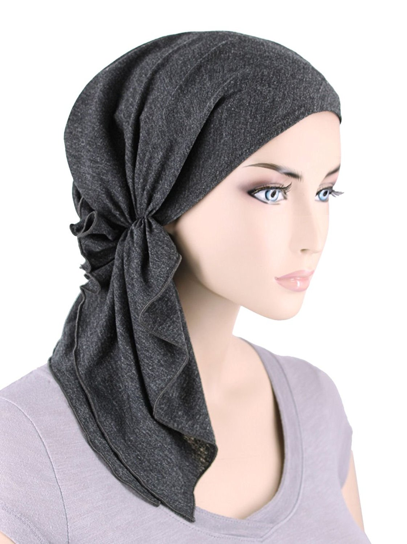 d64e7731056 Bella Scarf Chemo Hat Turban Head Scarves Pre-Tied Headwear Bandana Tichel  for Cancer