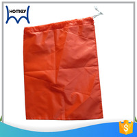 Heavy duty custom printing cheap waterproof nylon dry cleaning drawstring laundry bag