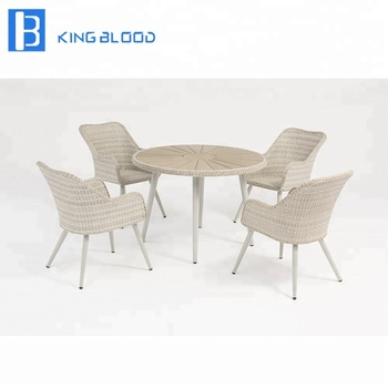Garden Wicker Furniture Dining Table