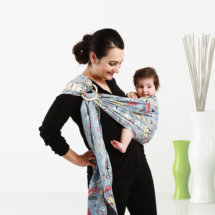 Hot sale wholesale custom designs baby carrier ring sling