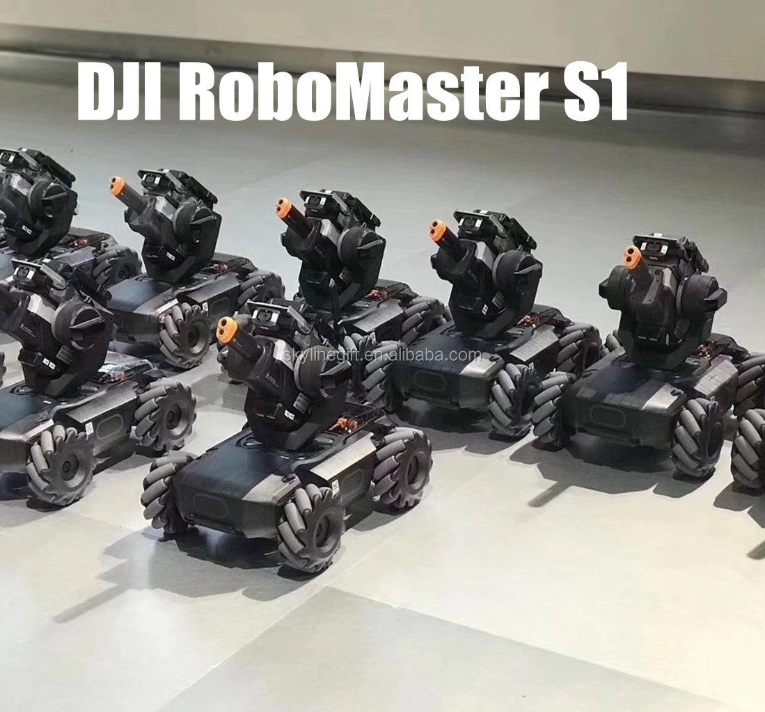 Robomaster S1 Intelligent Educational Robot With Programming And Ai Features View Educational Robot Dji Product Details From Shenzhen Skyline Toys Gifts Ltd On Alibaba Com