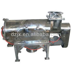 Centrifugal sieving machine for flour/semolina