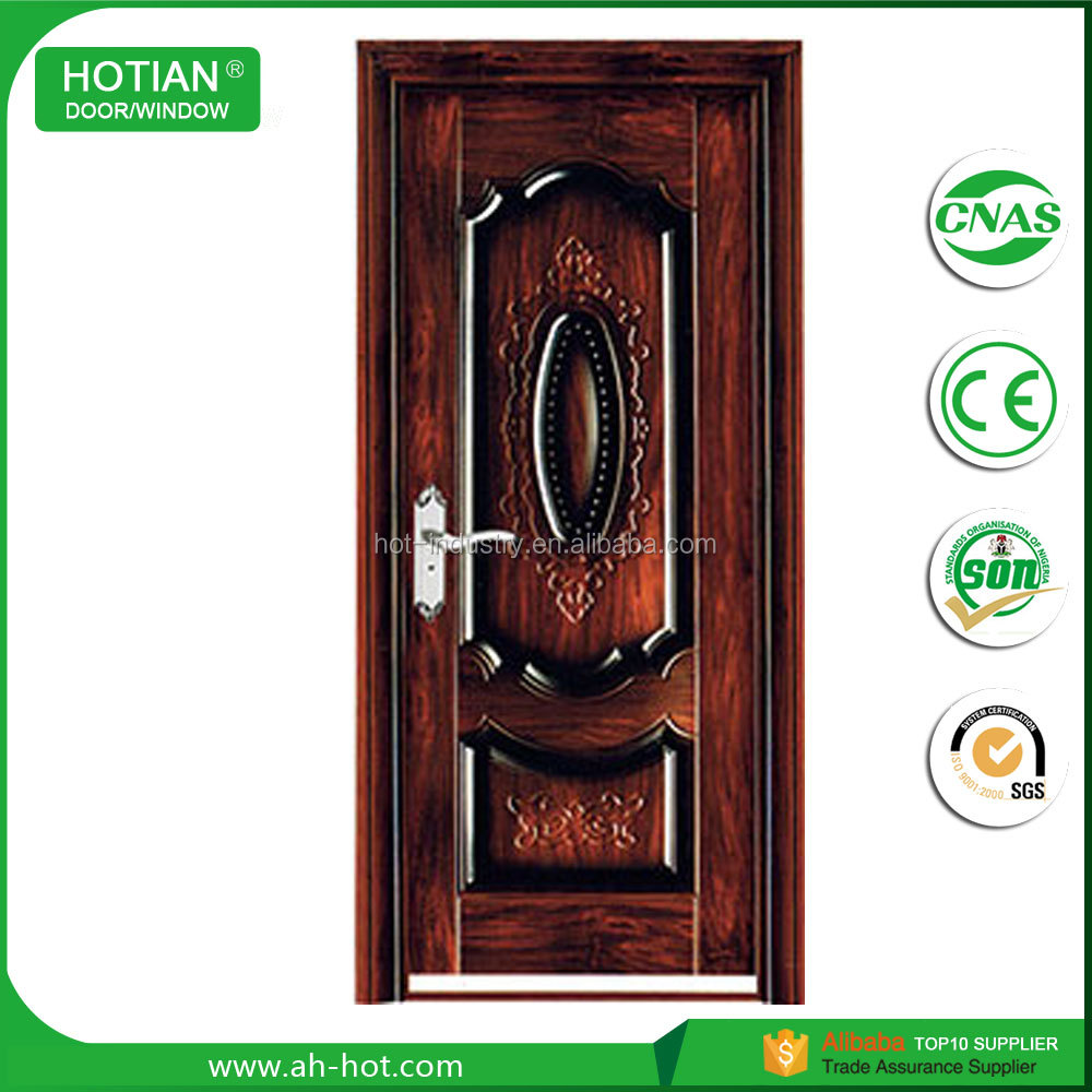 Cheap Nigeria Steel Apartment Entry Door Security High Quality ...