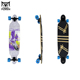 Outdoor Sports 41 Inch Maple Drop Down / Drop Through Longboard Complete Skateboard