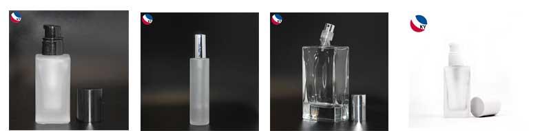 30 ミリリットルセラミック正方形マットホワイト高級ガラス化粧品ボトル