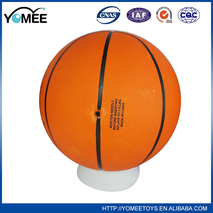Unique Design Hot Sale Worth Buying Inflatable Rubber Basketball