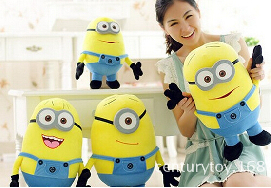 minion toys Big biggest Size 85CM 3D Despicable ME 2 Movie ...