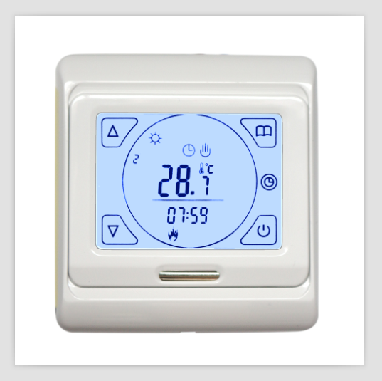 Touch Screen Programmable Room Stat Heating Thermostat