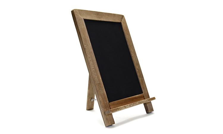 Free Standing Shabby Chic Modern Menu Board Small Blackboard