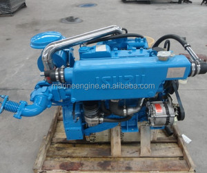 small marine diesel engine Yanmar and Isuzu 30-150hp 3000rpm
