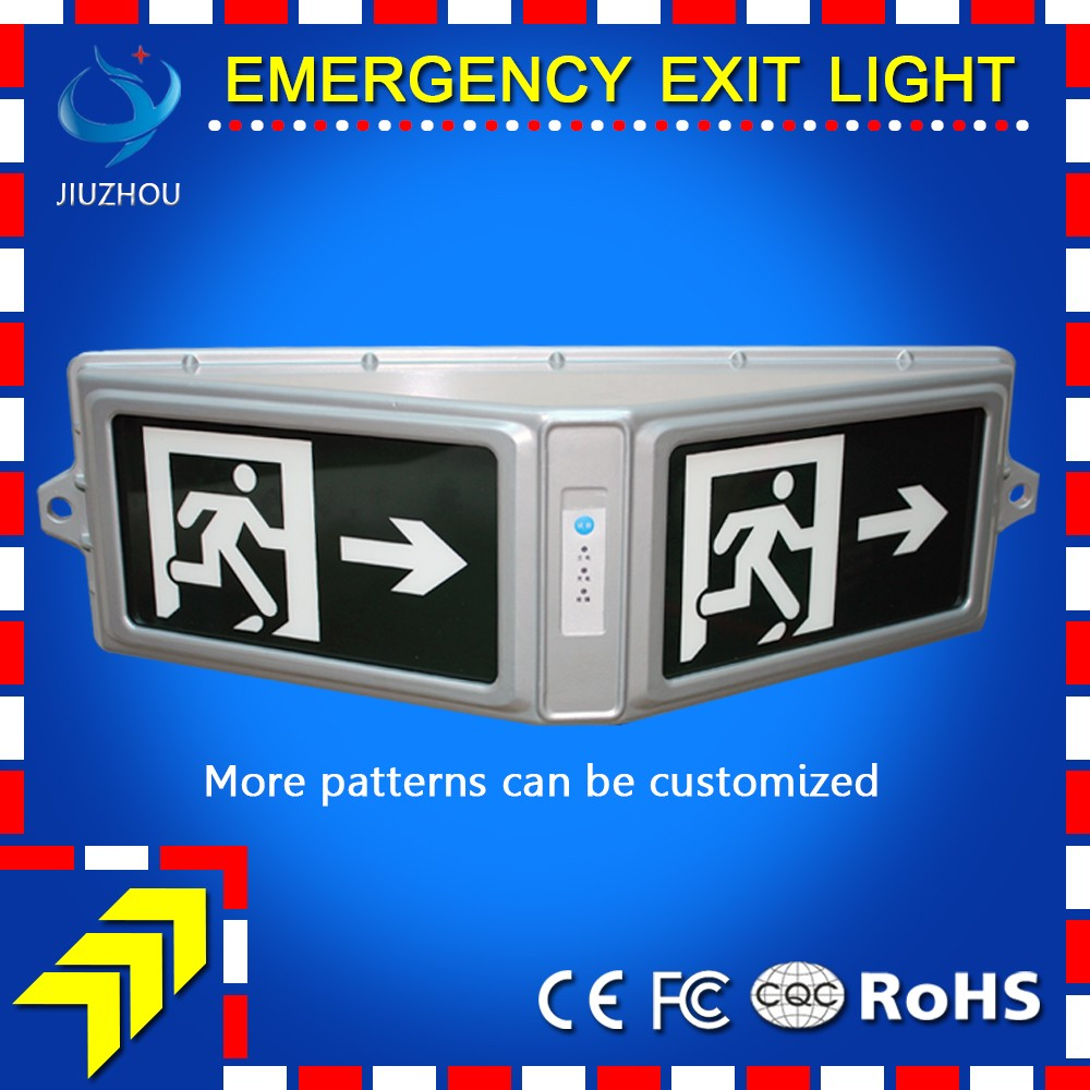 High Quality Emergency Exit Tunnel Sign Light With 3 Hours ...