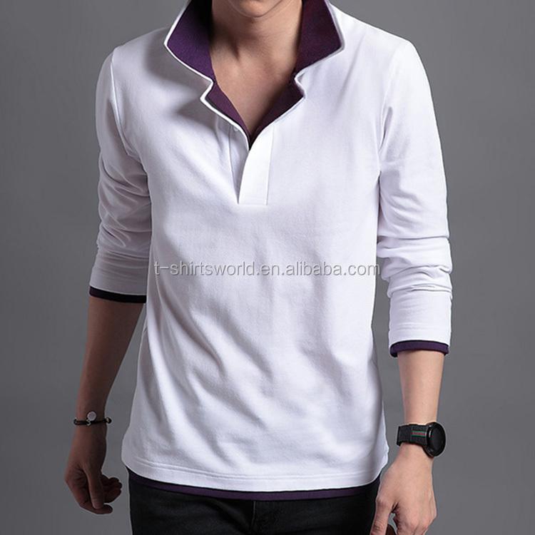 4b1854a8e Custom Men's Autumn Stylish Plain White Long Sleeved workwear sportswear  dri fit Tee Shirt