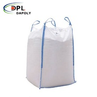 Dapoly 1 Cubic Meter Mt Jumbo Bags 1 Ton 2 Ton Big Bulk Bag For Sand Coal Fertilizer Cement