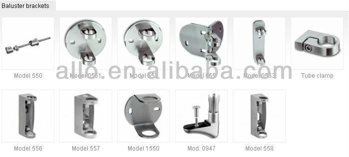 Diy Railing Fittings Inox304 Or 316 Stainless Steel Round