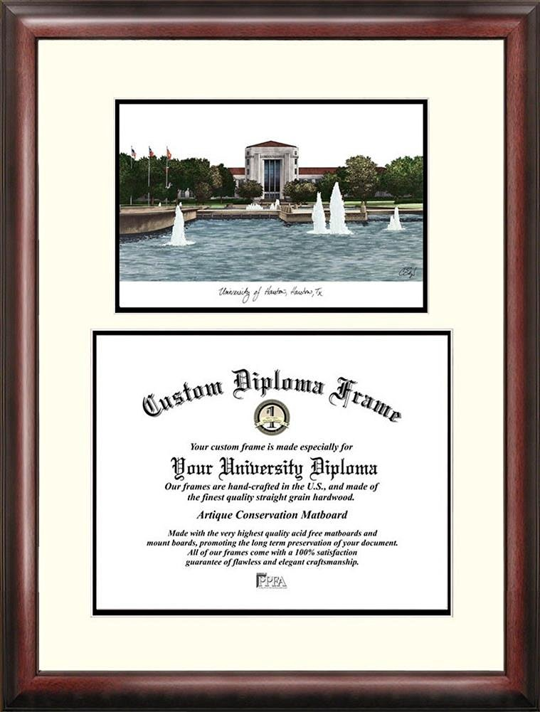 Buy TEXAS A&M Diploma Frame with Artwork in Standard Black Frame in ...