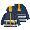 Boy's hooded rainproof waterproof jacket boy's jacket children's windbreaker casual cardigan