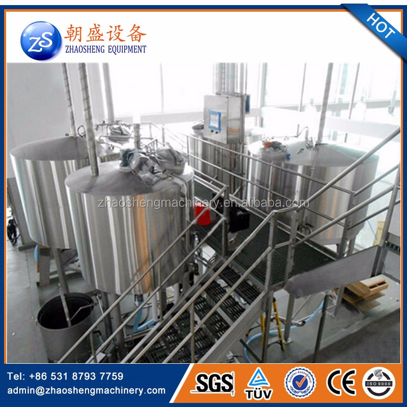 Best Sale Draft Mini Brewed Beer Brewing Equipment 100L for Restaurant