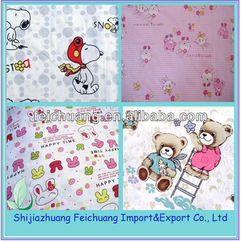 Baby Kid 100cotton Fabric Painting Designs Bed Sheets Fabric Buy