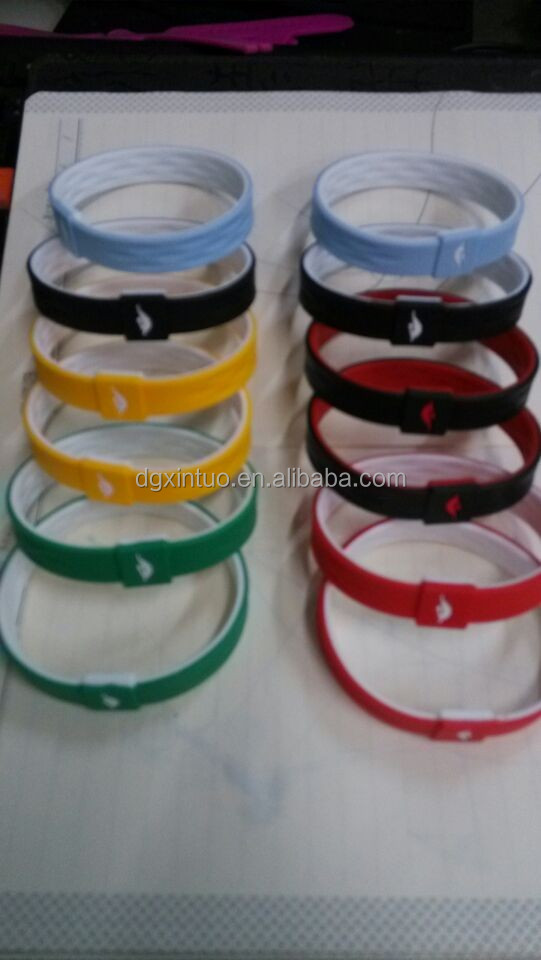direct factory supply silicone NBA bracelet band for the promotional gift