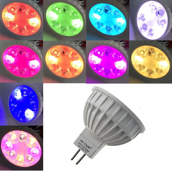 12v Dimmable Mr16 Gu5.3 Led Bulb Rgb+cct