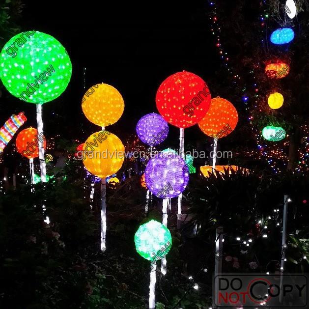 2014 new christmas lights spectacular led 3D sculpture lollipop lights - 2014 New Christmas Lights Spectacular Led 3d Sculpture Lollipop