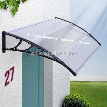 Plastic Bracket Awning Modern Aluminum Rain Canopy