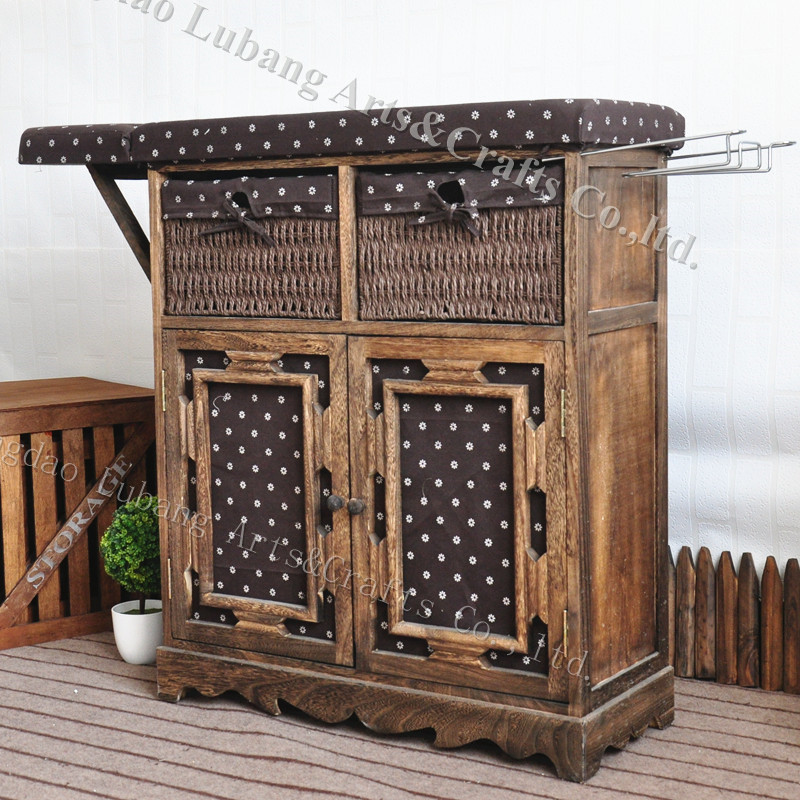 Wooden Cabinet Folding Table Top