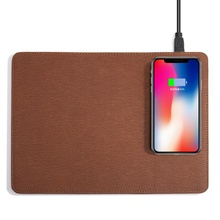 2019 hot new high-end mouse pad with mobile phone fast wireless charging intelligent wireless charging mouse pad