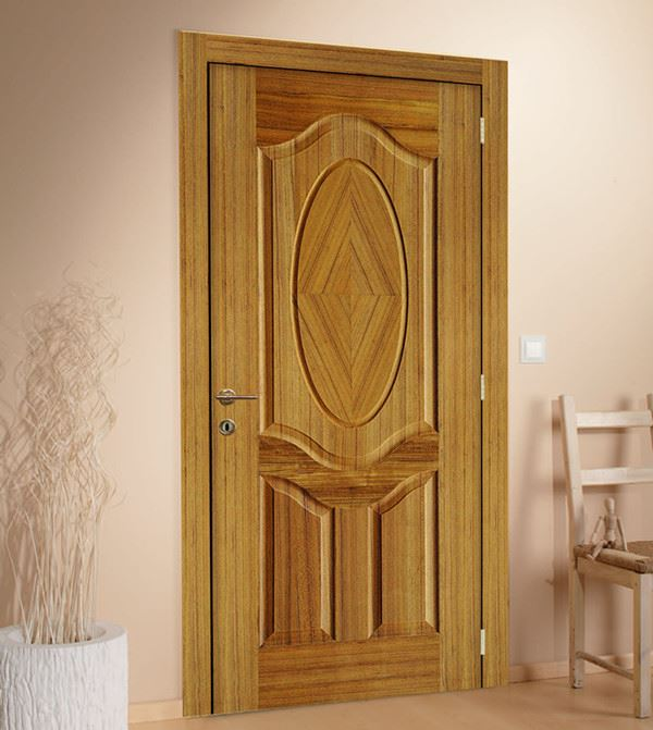 2015 interior simple teak wood main door designs buy for Plain main door designs