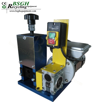 Bs-025 Mini Size Automatic Scrap Cable Wire Stripping Machine Copper ...