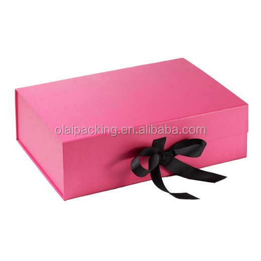 Luxury strong magnetic closure paper gift box,magnetic closure gift box,magnetic closure box package