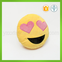 Manufacturer OEM high quality stuffed emoji cushion pillow in 35cm