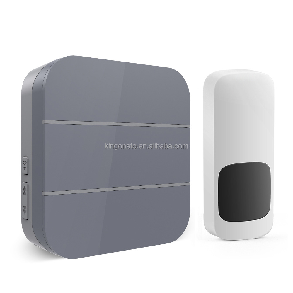 New design customizable wireless doorbell 300m long working distance 52 melodies made in China hot sale product