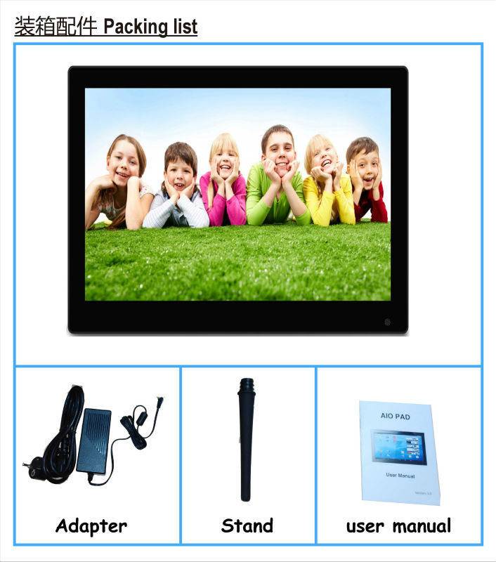 Wholesale 3g android touchscreen tablet