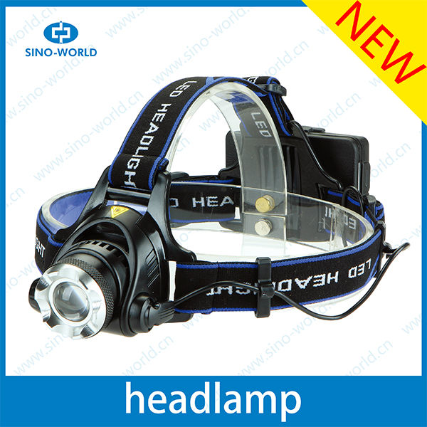 CR EE T6 LED high power headlamps with a bicycle stand led coon hunting light