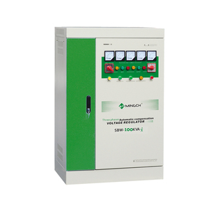 MINGCH SBW Series Three Phase 400v 100Kw Avr Fully Automatic Voltage Regulator
