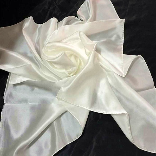 100 pure white silk scarf for dying