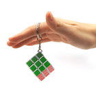 Promotion Gift 3cm ABS Mini Multifunction Puzzle Key Chains Magic Cube Keychain