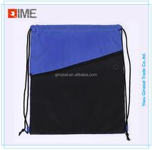 Drawstring Bag With Front Zipper Pocket, Drawstring Bag With Front ...
