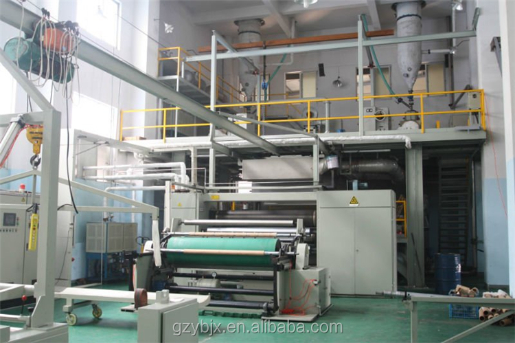 Single S 1.6M Width New Pp Spunbond Nonwoven Fabric Production Line Non Woven Making Machine