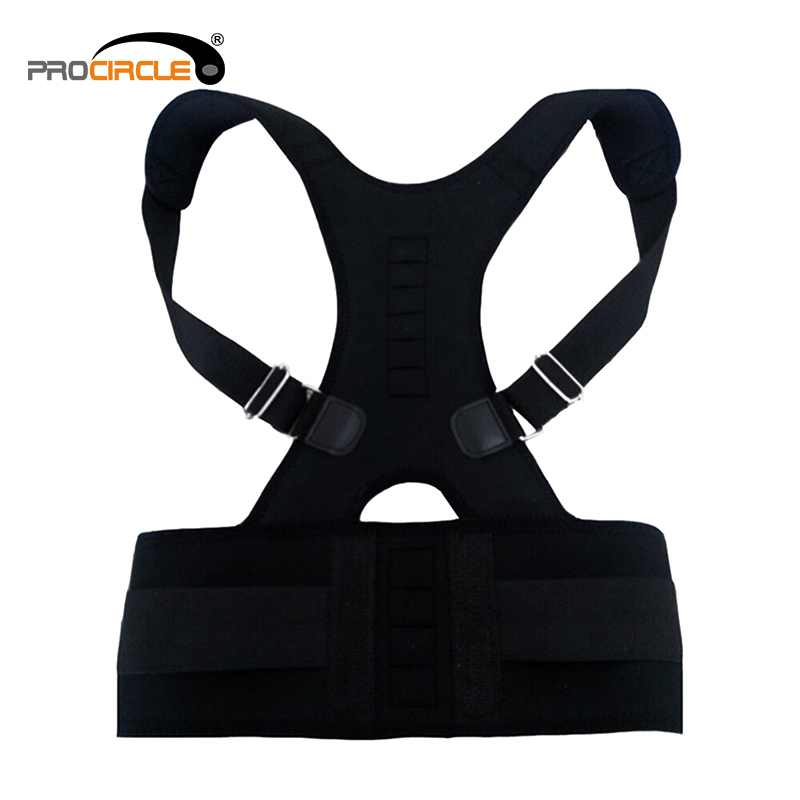 Adjustable Back Posture Corrector Braces Shoulder Waist Lumbar Support Belt