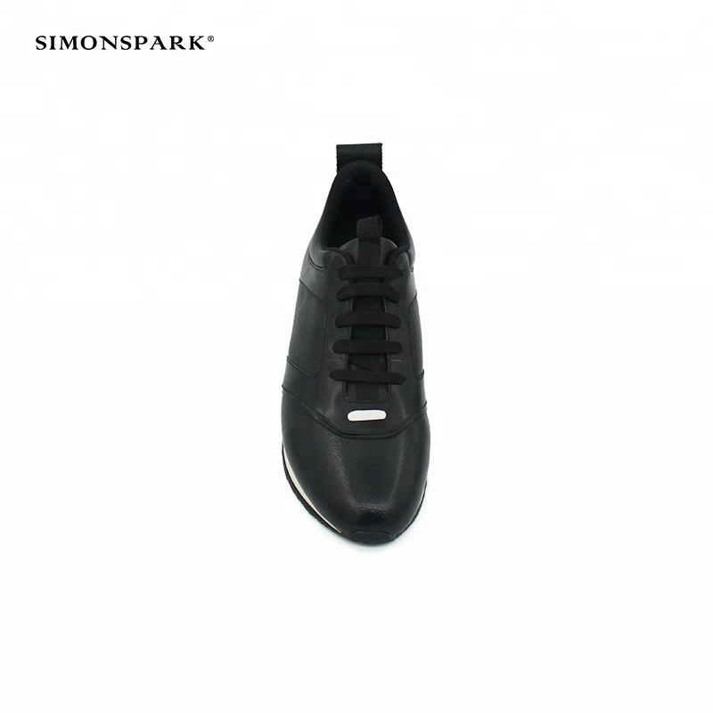 for type new sport men safety fashionable shoes Black 2018 leather wOxFB00