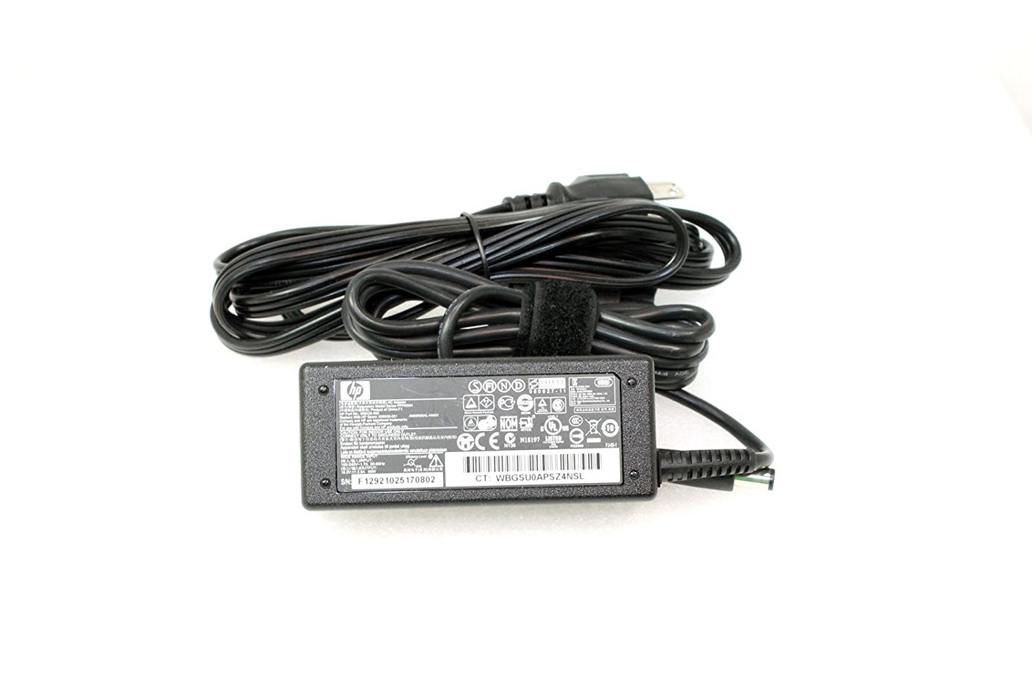 HP 18.5V 3.5A 65W AC Adapter 608425-002 609939-001