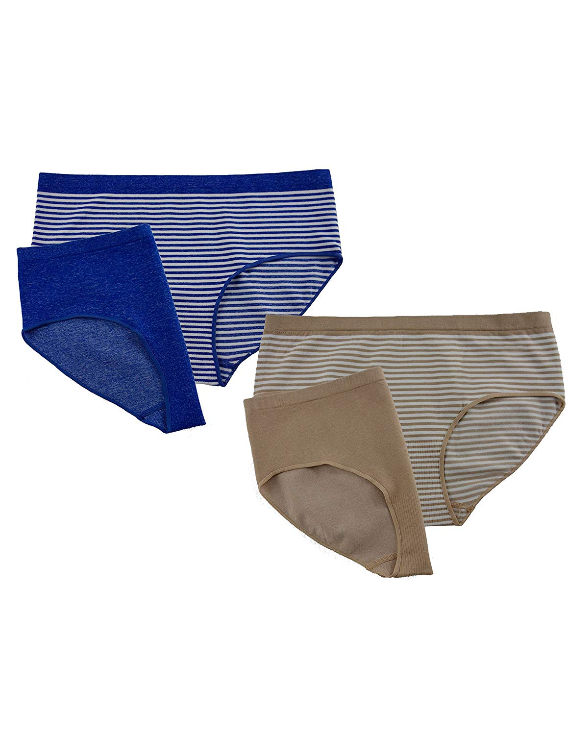 4e5ab24a62 Buy George Womens Seamless Hipster Panties 4-Pack in Cheap Price on ...