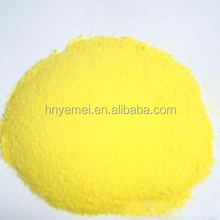China Manufacturer 30% min Yellow Powder Poly Aluminium Chloride PAC For Drinking Water Treatment