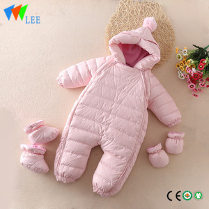 winter wholesale baby romper high quality Down feather Keep warm