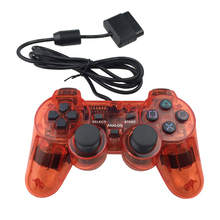 Transparente wired gamepad <span class=keywords><strong>controlador</strong></span> joystick para <span class=keywords><strong>ps2</strong></span>