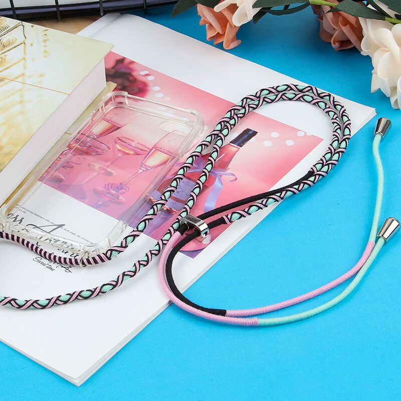 Rope Thread Wrapped String Neckband Braided Wire Colorful Phone Straps For Iphone Or Sumsung